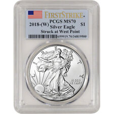 2018-(W) American Silver Eagle - PCGS MS70 - First Strike