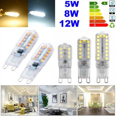G9 Led (4/8x G9 8/12W LED Birne Mais Licht Dimmbar Halogen Glühlampe Lampe Leuchtmittel)