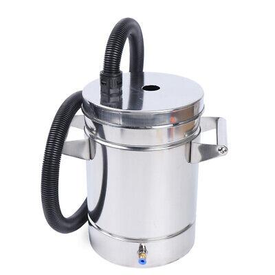 Small 304 Stainless Steel Fluidized Powder Hopper For Powder Coating Machine Usa