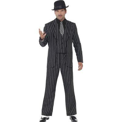 Smi - 20er Jahre Herren Kostüm Mafia Gangster Karneval - 20er Jahre Gangster Kostüm Herren