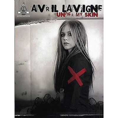 Avril Lavigne: Under My Skin - Guitar Recorded Versions. Sheet Music for Guitar