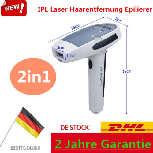 Epilierer Dauerhafte Laser Lichtimpulse Haarentfernung Körper Beine Enthaarung