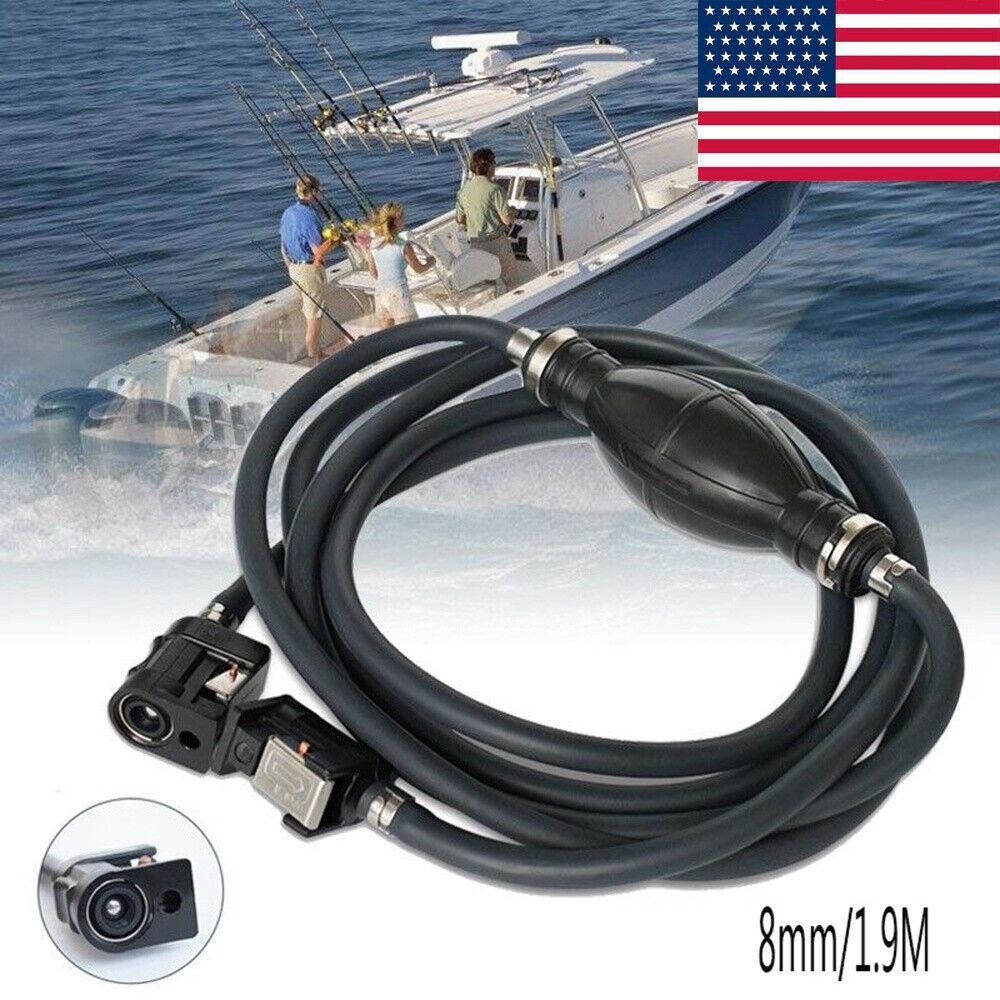 8mm 5//16/'/' Fuel Gas Line Hose Primer Bulb For Yamaha Outboard Marine Boat UK