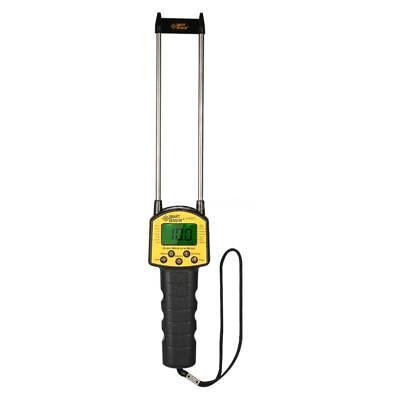 Lcd Digital Grain Moisture Meter Tester Measuring Probe For Corn Wheat Rice O6o6