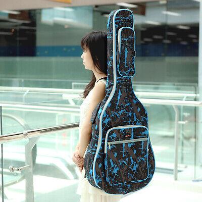 Acoustic Electric Guitar Gig Bag Padded Soft Case Waterproof Fr 41'' Guitar R5C2