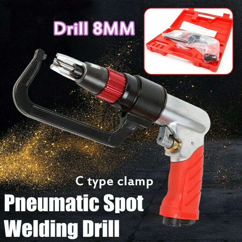 New 8MM Air Powered Spot Weld Cutter Tool, pneumatic cutting drill tools 1600RPM