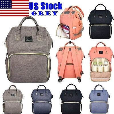 Land Fashion Nappy Mummy Backpack Diaper Bags Baby Newborn