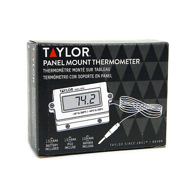 Taylor Digital Panel Mount Thermometer 9940