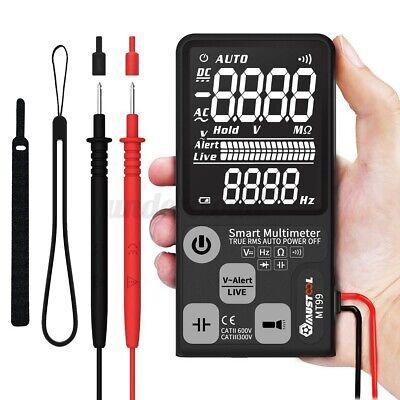 Mustool Lcd Mt99 9999 Counts Digital Meter Multimeter Acdc Volt Ohm Amp Tester
