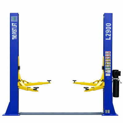 9000 Lb Capacity L2900 2 Post Lift Auto Car Truck Hoist 220 Volt