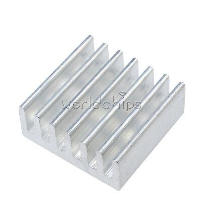 10pcs 14x14x6mm Aluminum Heat Sink For Diy Led Power Memory Chip Ic