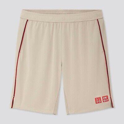 BNWT RARE Size XXL Official Roger Federer Uniqlo Shanghai & Basel 2019 Shorts!