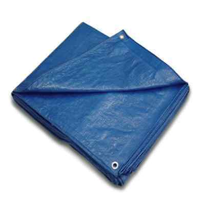 Boen BT-2040 20' x 40' All Purpose Blue Tarp