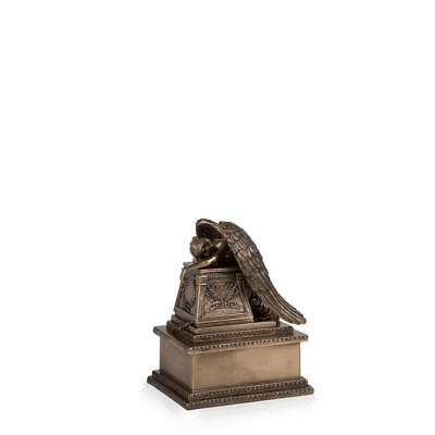 Perfect Memorials Bronze Finish Weeping Angel Cremation Urn Small