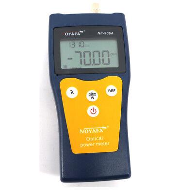 Nf-906a Ftth Optical Fiber Tester Optical Power Meter Fiber Optic