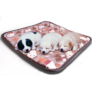 Waterproof Pet Dog Cat Puppy Electric Heating Pad Heater Warmer Mat Bed Blanket