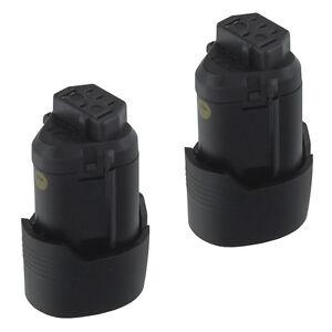 2x MTEC Akku Batterie für AEG L1215 / L-1215 / L1215R / L1215-R Battery 1500mAh