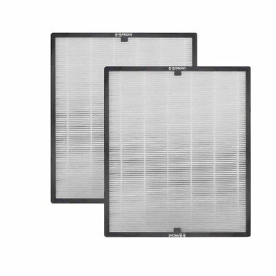2-pack Air Purifier Replacement Hepa Filter Compatible for COWAY AP-1503CH/CHE