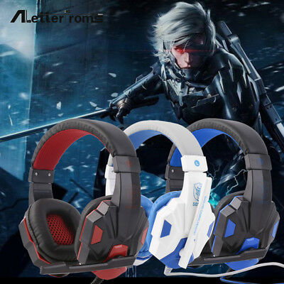 Overhead Stereo Headphone (Overhead Stereo Headset Adults Kids Gaming Headphone For PS4/PS3/PC )