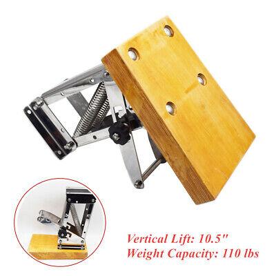Heavy Duty Stainless Steel Boat Outboard Motor Bracket Mount Vertical Lift 10.5