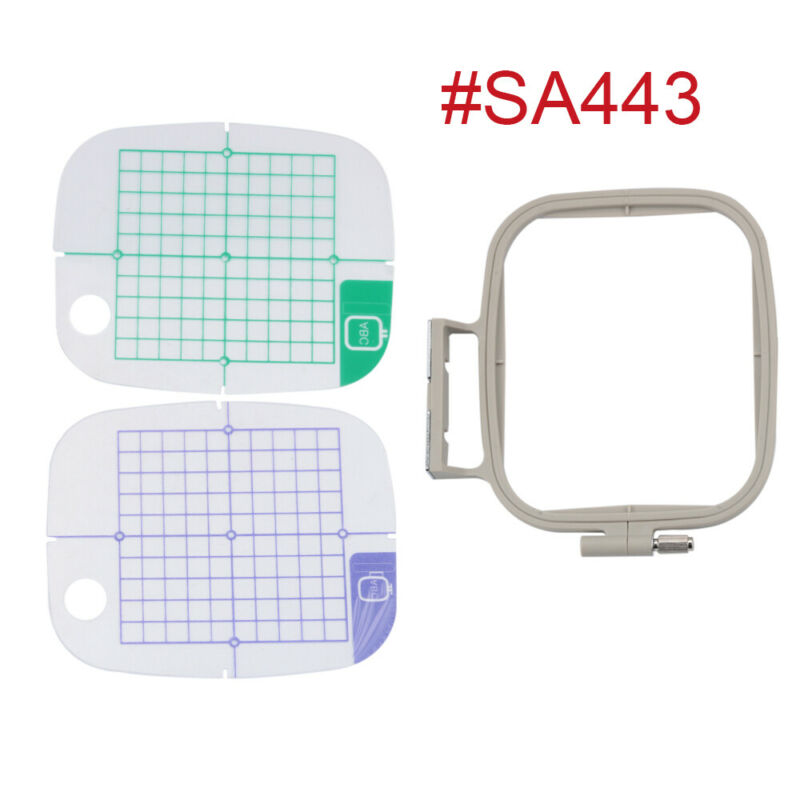 Medium Embroidery Hoop for Brother PE770 PE800 SE1900 Machine - Replaces SA443