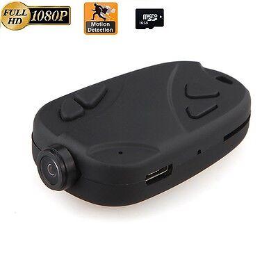 16GB Hidden Camera 1080P 808 Keychain camera Micro Spy Camera  Motion detection