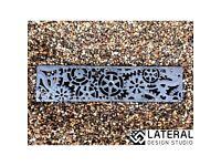 Aquascape Dynamo Cast Iron Channel Drain Grate 125 x 1000mm (5 inch)