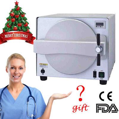 18l Medical Steam Sterilizer Autoclave Dental Machine Sterilization Dentist Gift