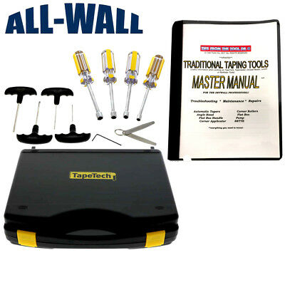 Tapetech Drywall Taping Tool Maintenance Kit Wmaster Repair Manual Most Brands