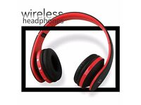 Over-ear Headphones, Professional Headphones with Built-In Mic, Fold-able Stereo Bluetooth Headphone