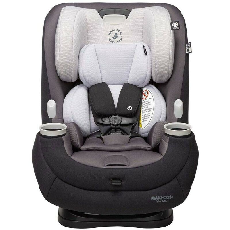 Maxi-Cosi Pria 3-in-1 Convertible Car Seat, Blackened Pearl - CC244FGD