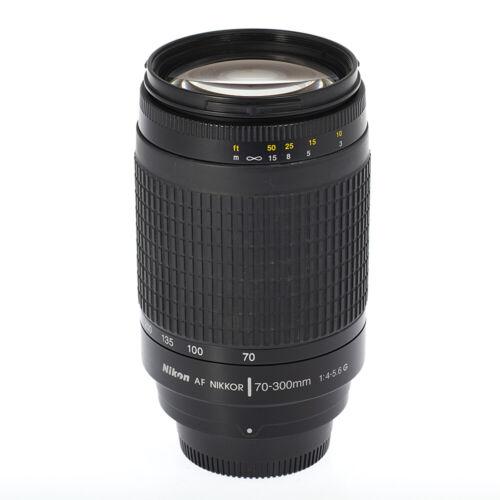 NIKON 70-300mm f/4-5.6 AF NIKKOR Zoom Camera Lens - Excellent Condition