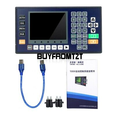 Tc5530v 3 Axis Cnc Controller Motion Controller W 3.5 Color Lcd For Cnc Router