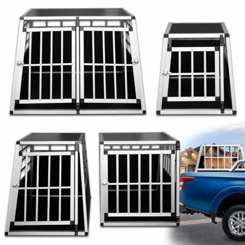 S/M/L/XL Hundetransportbox Transportbox Langlebig Hundebox Kofferraumbox Alu