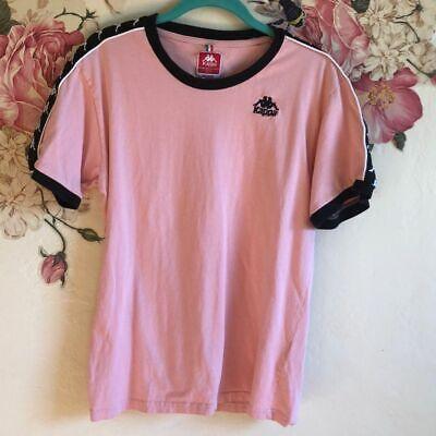 Vintage Kappa Women's Pink T-Shirt Size Medium
