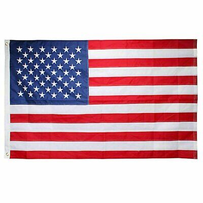2′ x 3′ FT USA US U.S. American Flag Polyester Stars Brass Grommets Collectibles