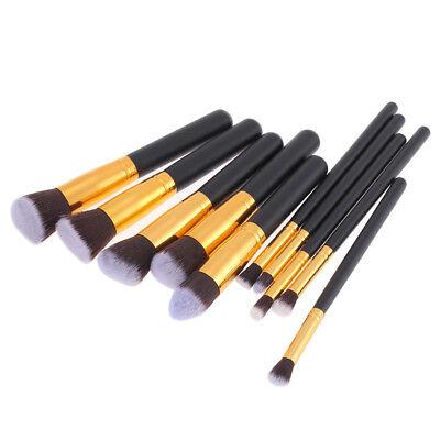 Foxpic 10 PCS professionellen Kosmetik Make up Pinsel Set -Gold für Sch?ne Damen