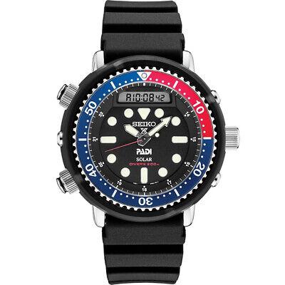 Seiko Men's Prospex PADI 47.8 mm Solar Diver's Watch w/ Stopwatch Function
