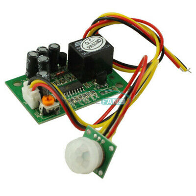 Dc12v Pir Ir Pyroelectric Infrared Relay Output Adjustable Sensor Module