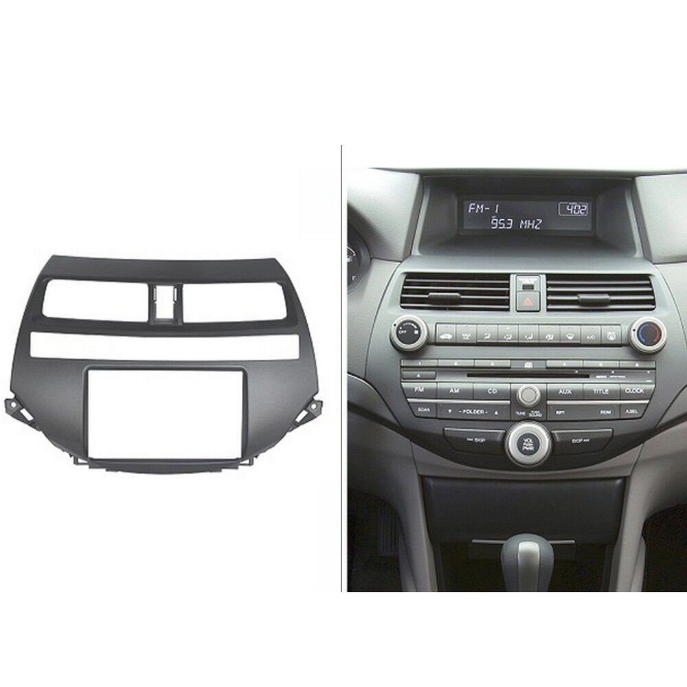 Double Din Fascia For Honda Viii Accord 2008  Radio Dvd