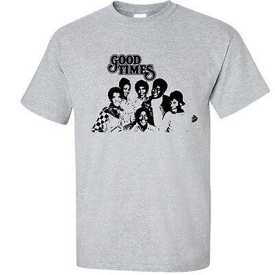 Good Times T Shirt 70s 80s Retro Vintage T-Shirt 70 Vintage Retro T-shirt
