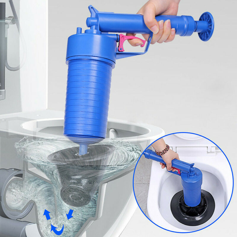 Drain Air Blaster Pressure Pump Cleaner Unclogs Toilet Hand