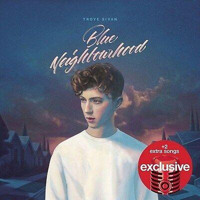 TROYE SIVAN Blue Neighbourhood CD w/2 BONUS 2015 TARGET Exclusive Edition NEW