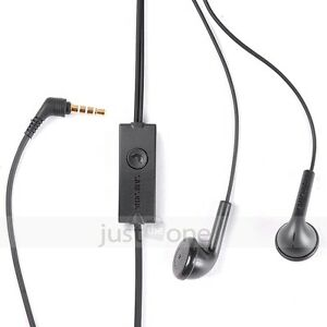 Handsfree stereo Headset Earphone Headphone for Samsung Galaxy Ace GT-S5830 BLK