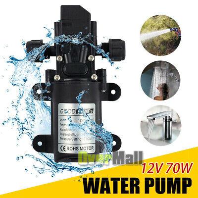 Dc 12v Self Priming Water Pressure Pump Diaphragm Pump For Caravanrvmarine Ac