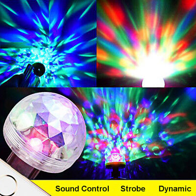 3W USB LED Disco Ball Stage Lighting Light For Home Night Club Party DJ Decor