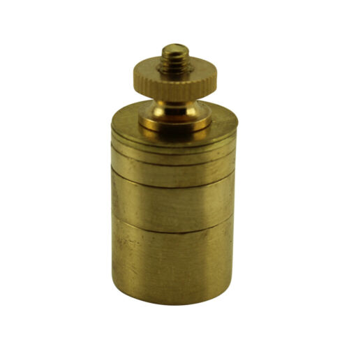 Gram Weights for Measuring key weight on pianos - Solid Brass