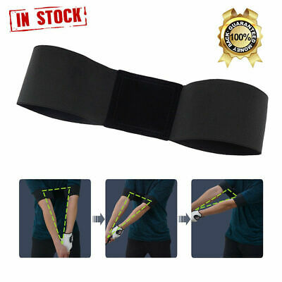 Pro Golf Swing Arm Band Training Aid For Golf Beginners Unisex Accurate Swing US