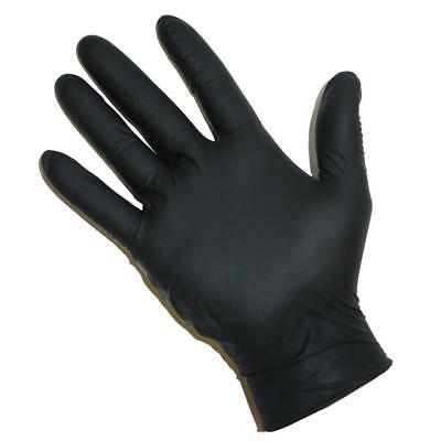 Premium 5 Mil Disposable Industrial Nitrile Non-latex Powder Free Gloves - Large