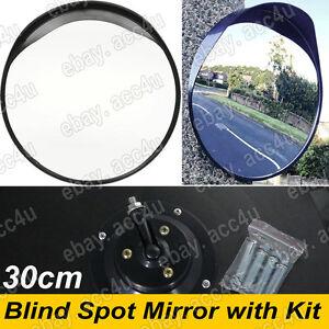 Home Driveway Garage Alley Security 30cm Convex Single Round Blind Spot Mirror